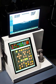 Photograph of FCT Console