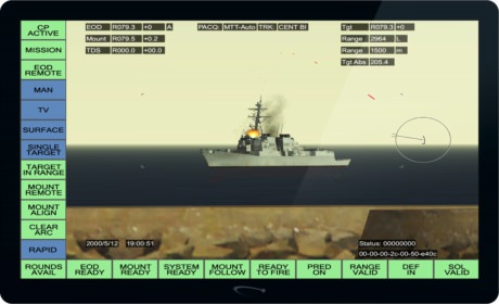 Screenshot of FCT showing an arcing long distance strike
