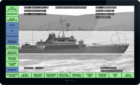Screenshot of FCT infrared camera mode