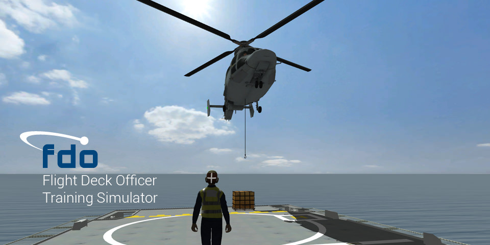 Flight Deck Officer Training Simulator